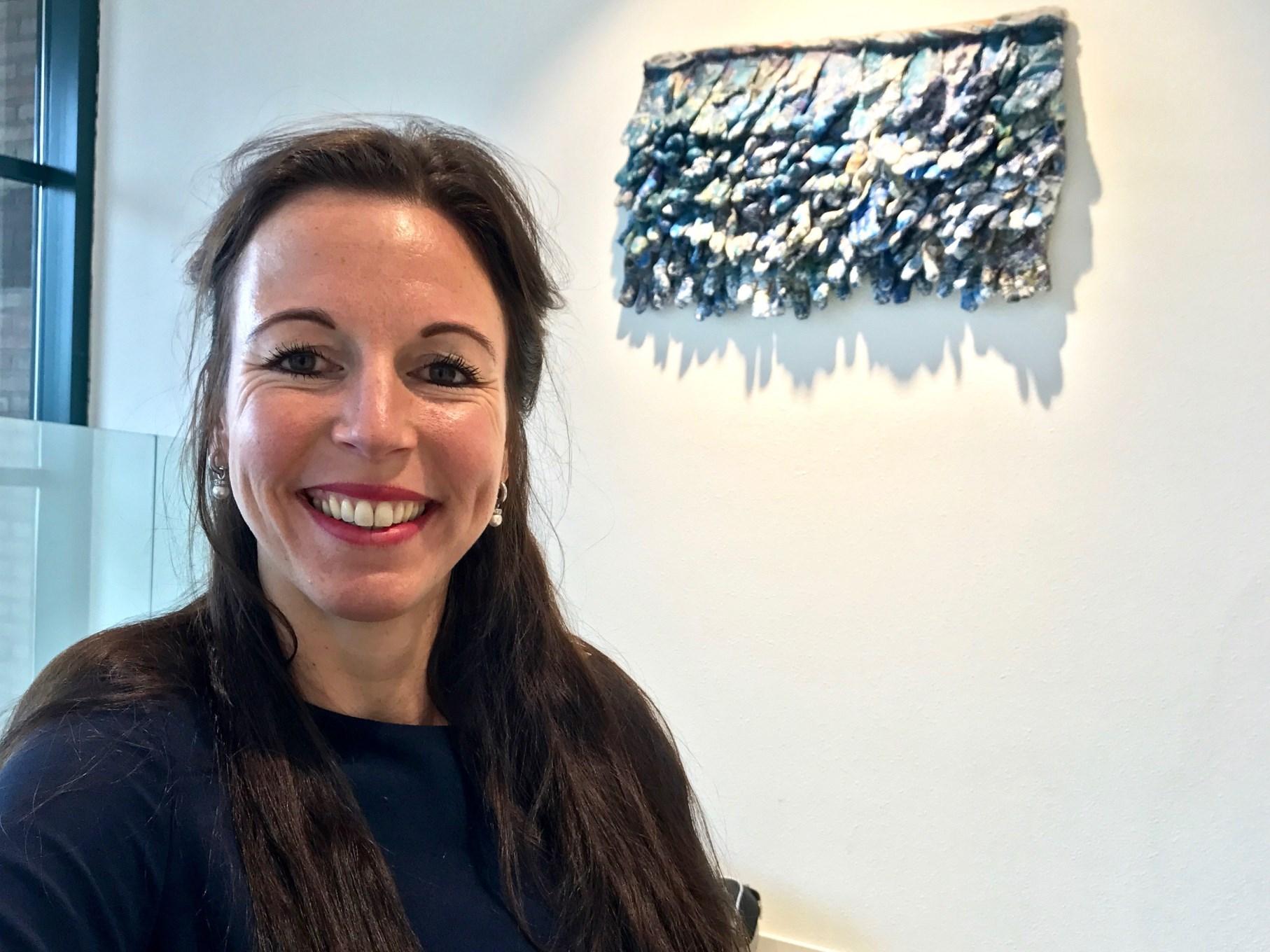 Marieke Verkerk, projectleider zelforganisatie bij Ipse de bruggen