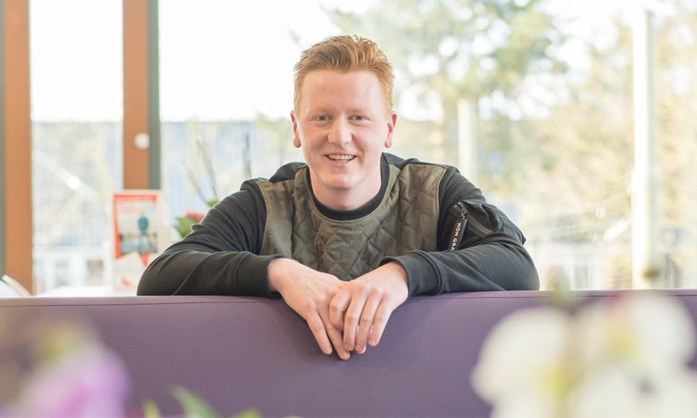 Paul de Vos (26) - een ambitieuze verpleegkundige in een geweldig team
