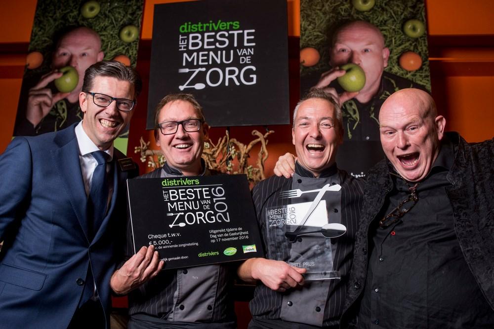 Team Marente winnaar 'Beste menu van de Zorg 2016'
